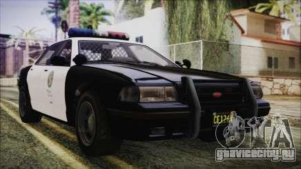 GTA 5 Vapid Stranier II Police Cruiser для GTA San Andreas
