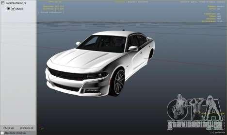 2015 Dodge Charger RT 1.4 для GTA 5