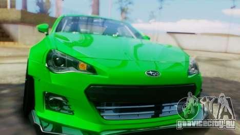 Subaru BRZ 2013 Rocket Bunny для GTA San Andreas вид сбоку