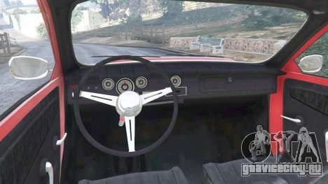 Saab 96 [rally] для GTA 5 вид сзади справа