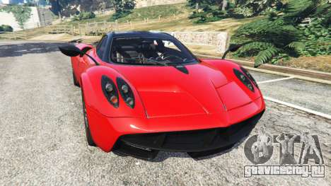 Pagani Huayra 2013 v1.1 [black and red rims] для GTA 5