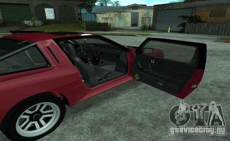 Mitsubishi Starion ECI-R для GTA San Andreas вид сбоку