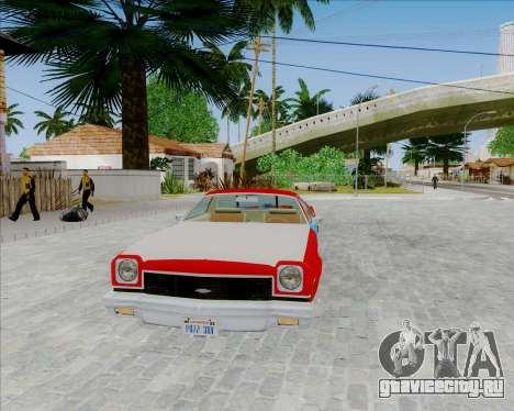 Chevrolet El Camino My Name is Earl v1.0 для GTA San Andreas