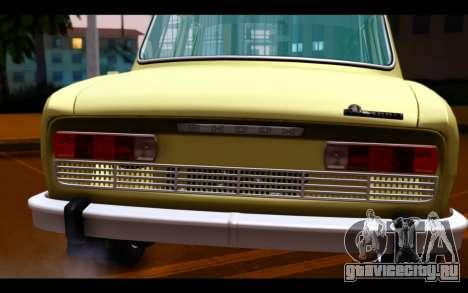Skoda 100 для GTA San Andreas вид сзади