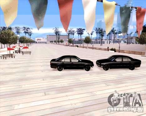 Mercedes Benz E-Class для GTA San Andreas вид сзади