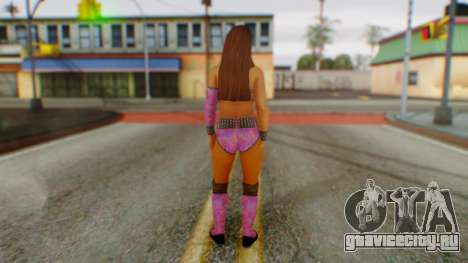 Layla WWE для GTA San Andreas третий скриншот