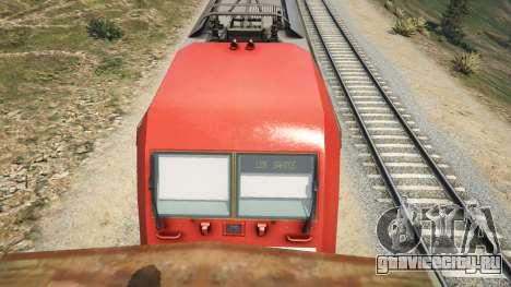 Bombadier Traxx DB BR 145 для GTA 5 четвертый скриншот