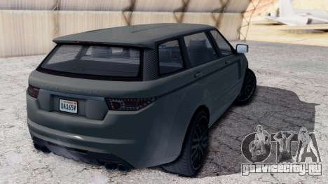 GTA 5 Gallivanter Baller LE LWB IVF для GTA San Andreas вид слева