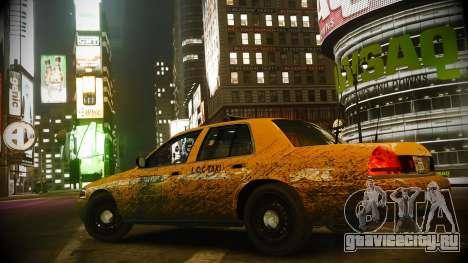 Ford Crown Victoria L.C.C Taxi для GTA 4 вид сзади