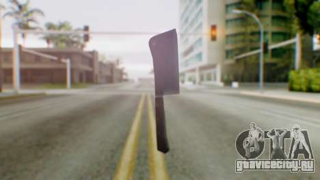 Vice City Meat Cleaver для GTA San Andreas