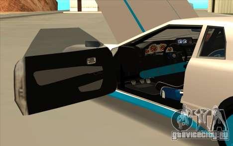 Elegy DRIFT KING GT-1 [2.0] (New wheels) для GTA San Andreas вид сбоку