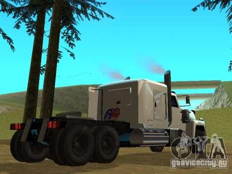 Petroltanker v2 для GTA San Andreas вид справа