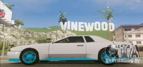 Elegy DRIFT KING GT-1 [2.0] (New wheels) для GTA San Andreas вид слева