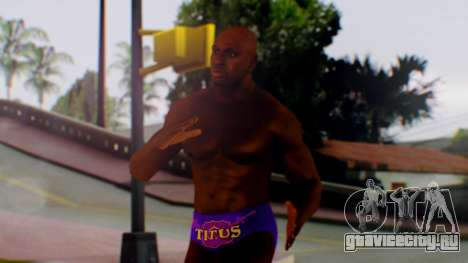 Titus ONeil для GTA San Andreas