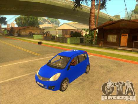 Nissan Note v0.5 Beta для GTA San Andreas