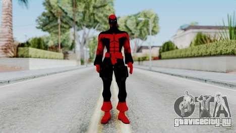 Spider-Man Shattered Dimensions - Deadpool для GTA San Andreas второй скриншот