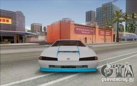 Elegy DRIFT KING GT-1 [2.0] (New wheels) для GTA San Andreas вид сзади слева