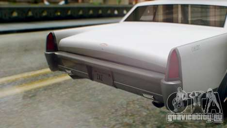 GTA 5 Vapid Chino Tunable IVF PJ для GTA San Andreas вид сзади