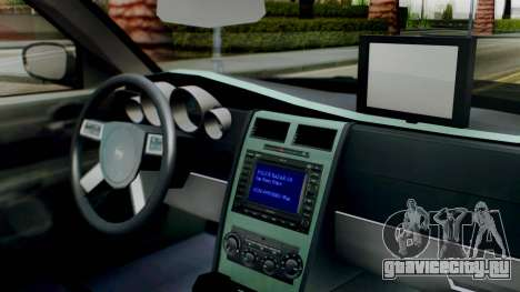 New Police SF для GTA San Andreas вид справа