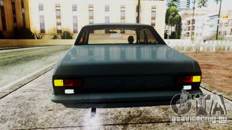 Ford Escort Mk1 для GTA San Andreas вид сзади