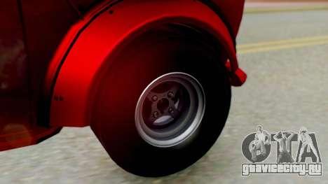 Mini Miglia для GTA San Andreas вид сзади слева