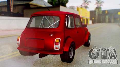 Mini Miglia для GTA San Andreas вид слева