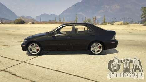 Lexus IS300 Tunable 1.0 для GTA 5