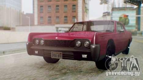 GTA 5 Vapid Chino Tunable PJ для GTA San Andreas