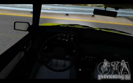 Lada Samara для GTA San Andreas вид сзади