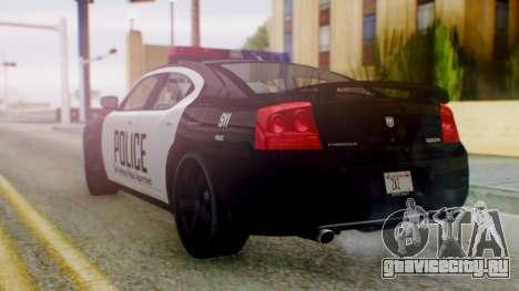 New Police SF для GTA San Andreas вид слева