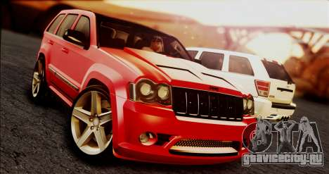 Jeep Grand Cherokee SRT8 Final version для GTA San Andreas