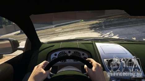 Aston Martin DBS для GTA 5 вид сзади