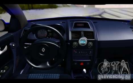 Renault Megane Sedan для GTA San Andreas вид справа
