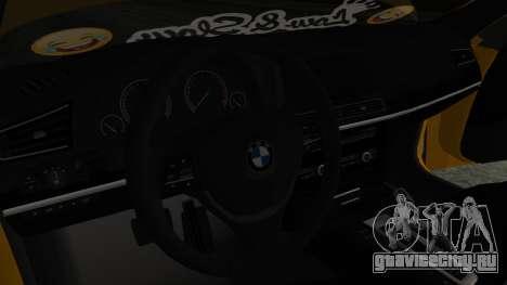 BMW 750Li M Sport для GTA San Andreas вид справа