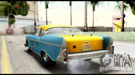 GTA 5 Declasse Cabbie v2 IVF для GTA San Andreas вид слева