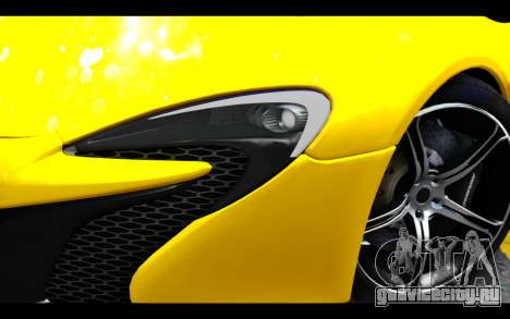 McLaren 650S Coupe для GTA San Andreas вид сзади