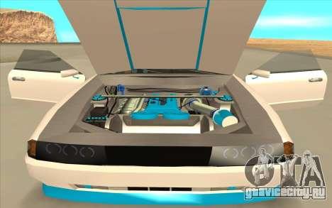 Elegy DRIFT KING GT-1 [2.0] (New wheels) для GTA San Andreas вид сзади