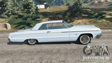 Chevrolet Impala SS 1964 v2.0 для GTA 5 вид слева