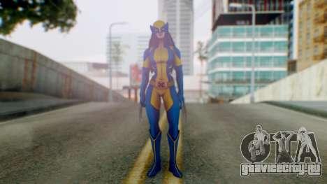 Marvel Heroes X-23 (All new Wolverine) v1 для GTA San Andreas второй скриншот