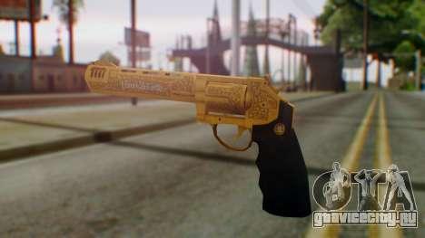 GTA 5 VIP Revolver для GTA San Andreas второй скриншот