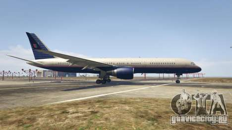 Boeing 757-200 для GTA 5 второй скриншот