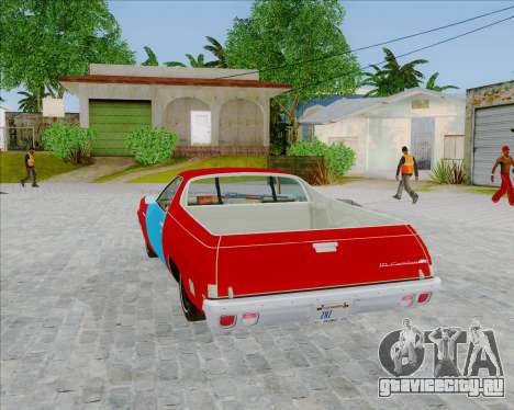 Chevrolet El Camino My Name is Earl v1.0 для GTA San Andreas вид слева
