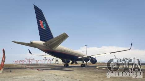 Boeing 757-200 для GTA 5 третий скриншот