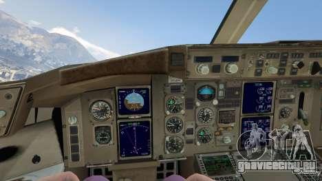 Boeing 757-200 для GTA 5 четвертый скриншот