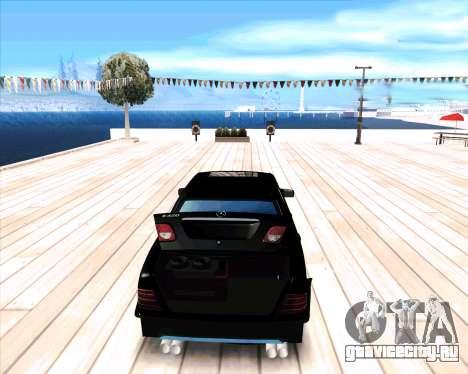 Mercedes Benz E-Class для GTA San Andreas вид справа