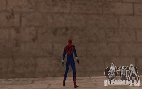 Сенсационный Человек-Паук Бен Рейли для GTA San Andreas четвёртый скриншот
