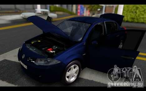 Renault Megane Sedan для GTA San Andreas вид сбоку