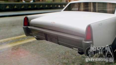 GTA 5 Vapid Chino Tunable IVF PJ для GTA San Andreas вид изнутри