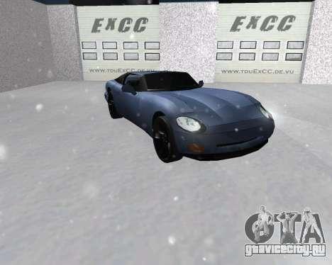 New Banshee с крышей для GTA San Andreas вид справа