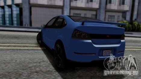 GTA 5 Cheval Surge для GTA San Andreas вид слева